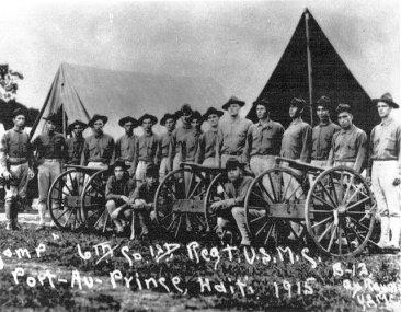 US Marines-Haiti-1915